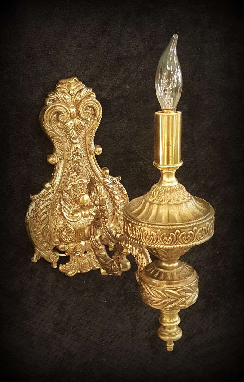 ornate lighting. Ornate Lighting. Brass Sconce Lighting